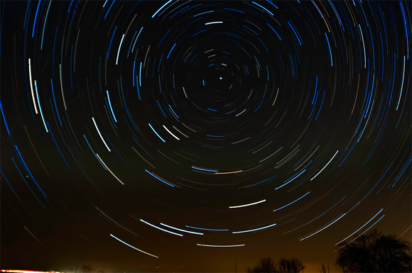 Hay Hollow Star Trails